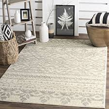 Area Rug 6 X 9 Safavieh Adirondack Collection Adr107b Ivory And