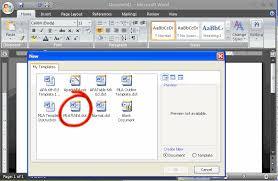 Resume Template Microsoft Word 2013 How To Change Mla Format On Microsoft Word 2007 Mediafoxstudio Com