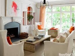 Best COLOR Orange Home Decor Images On Pinterest Living Room - Orange living room decorating ideas