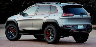 jeep cherokee trailhawk red mopar adding huge jeep upgrade options cherokee adventurer
