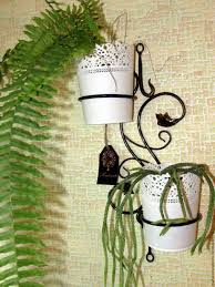 wrought iron wall planters wrought iron wall holder for two pots u2013 shop online on livemaster