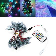 christmas light control module 50pcs ws2811 full color rgb waterproof led module strip light 14