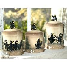 black kitchen canister sets black kitchen canisters kitchen canisters ceramic black ceramic