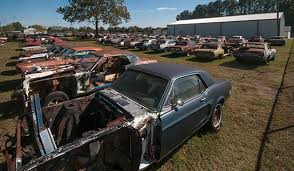 mustang salvage yard photo of the week valhalla for mustangs