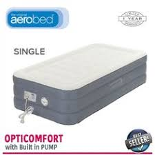 Aerobed Premier Comfort Zone Raised Aerobed Active Air Bed Inflatable Mattress Bed With Pump Queen
