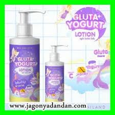 Gluta Yogurt Lotion gluta yogurt lotion membuat kulit nak lebih cerah dan terlihat