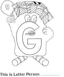 the letter a coloring page 37 best letter people images on pinterest the letter people