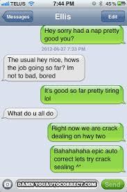 Failed Text Message Memes Com - damn you auto correct funny iphone fails and autocorrect horror