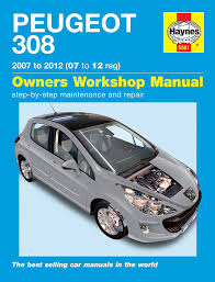 peugeot 308 1 4 1 6 vti thp 1 6 hdil 2007 2012 manual amazon co