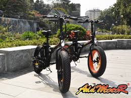This Folding E Bike Wants by Addmotor Motan M 150 Folding Black 20 Inch Fat Tire E Bike