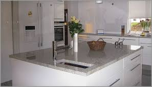White Granite Kitchen Countertops by White Granite Kitchens