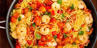 Dinner Ideas With Shrimp And Pasta Best Bruschetta Shrimp Pasta Recipe How To Make Bruschetta