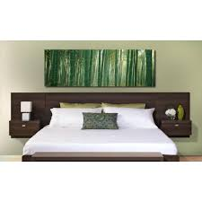 Floating Bed Frame For Sale by Prepac Series 9 1 Piece Espresso King Bedroom Set Ehhk 0520 2k
