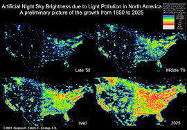 Study United States Map by United States Class 1 Federal Areas 1997 Light Pollution Study
