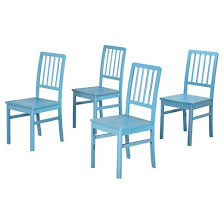 Slat Back Dining Chairs Camden Slat Back Dining Chair Wood Set Of 4 Tms Target