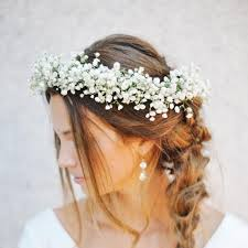 bridal flower the of rocking a flower crown on your wedding day brides