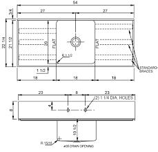 Standard Kitchen Sink Size Kitchen by Kitchen Island With Sink Dimensions U2013 Decoraci On Interior