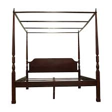 King Wooden Bed Frame 78 Bombay Bombay Canopy King Cherry Wood Bed Frame Beds