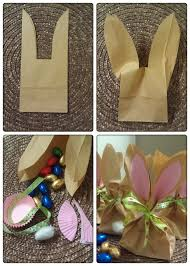 Diy Easter Gifts Easter Bunny Treat Bags So So Easy Craft General Pinterest