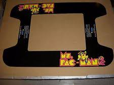 Ms Pacman Cocktail Table Ms Pacman Arcade Gaming Ebay
