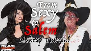 burned witch makeup tutorial wholesale halloween costumes blog