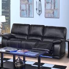 Blue Reclining Sofa by Roosevelt Dual Reclining Sofa Wayfair