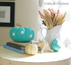 to make a tiffany inspired painted fall pumpkin