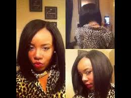 best hair to use for a bob hair tutorial weave u part bob