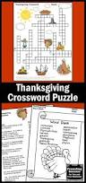 thanksgiving activities for 1st grade the 25 best thanksgiving crossword puzzle ideas on pinterest