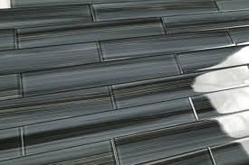 black glass subway tile backsplash 48 best images about