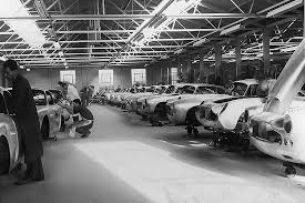 aston martin factory aston martin db4 g t continuation cars in the works automobile