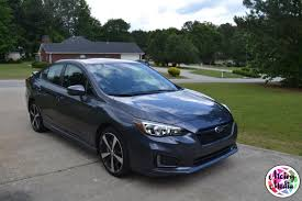 2017 subaru impreza sedan blue cruising the atl in the 2017 subaru impreza naturalbabydol