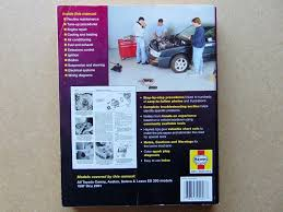 haynes manual for toyota camry 1997 through 2001 covers all