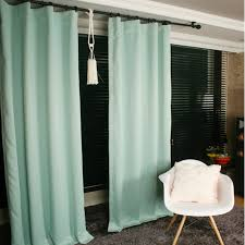 Mint Green Curtains Mint Green Blackout Curtain Drapery Panel