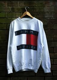 vintage hilfiger sweaters hilfiger sweatshirt size medium
