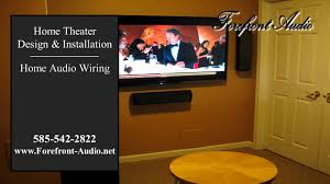 home theater system installation forefront audio rochester ny home theater systems youtube