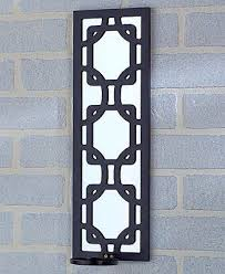 Candle Holder Wall Sconces Endearing 50 Mirrored Wall Sconce Candle Holder Design Ideas Of