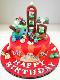 cartoon birthday cake your child is the king of the day