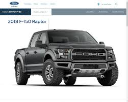 ford raptor harga ford f 150 raptor supercab versi 2018 dapatkan 2 model bagasi baru