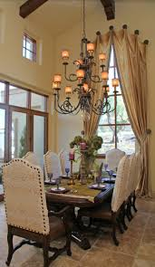 Curtain Ideas For Dining Room 204 Best Dining Room Images On Pinterest Tuscan Style Dining