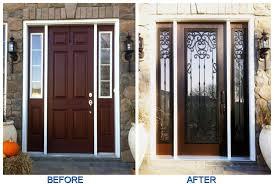 Fiberglass Exterior Doors With Sidelights Remodeling Fiberglass Entry Doors With Sidelights Popular