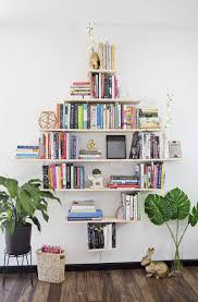 diy diamond shaped book shelves craft u0026 diy pinterest book