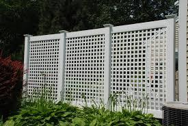 halloween fences to use permalatt lattice as privacy fencing