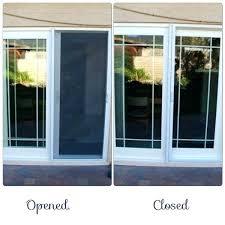 Installing Patio Door Patio Door Screens Lovely Screen Patio Door For Installing
