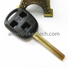 lexus is300 valet key online buy wholesale lexus 3 button key shell from china lexus 3