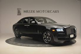 roll royce black 2017 rolls royce ghost black badge stock r422 for sale near