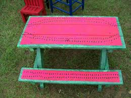 good painting ideas good painted picnic table 65 on home design ideas with painted
