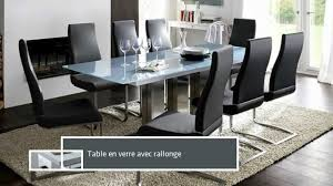 Table Salle A Manger Verre Design by Collection Harmony Meuble Design Table à Manger Youtube