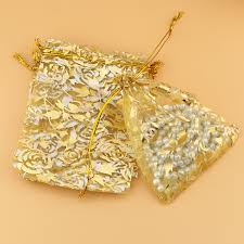 gold organza bags online get cheap organza bags wedding gold aliexpress