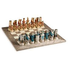 cleopatra the queen of the nile chess set hayneedle